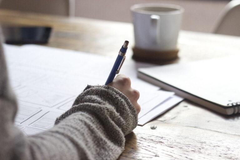 Psaní rukou