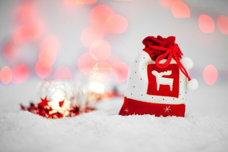 Vánoční pytel s dárky