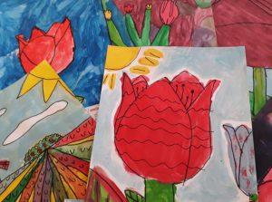 Tulipánový měsíc Amelie